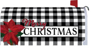 Gingham Christmas Mailbox Cover