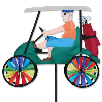 Male Golf Cart Wind Spinner