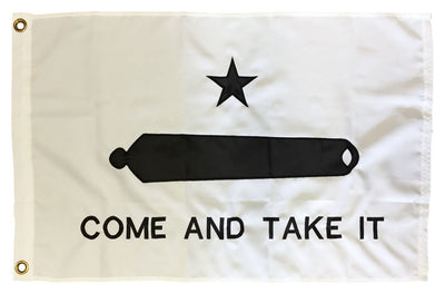 Gonzales Come and Take It Flag 2x3 2-Ply Polyester