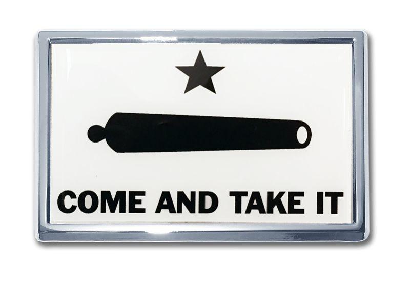 Gonzales Come and Take It Flag Car Emblem SUV Size