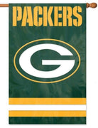 Green Bay Packers Applique House Flag