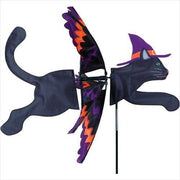 Flying Halloween Cat Wind Spinner