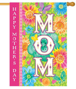 Happy Mother's Day MOM House Flag