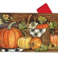 Harvest Gathering OVERSIZED Mailbox Cover