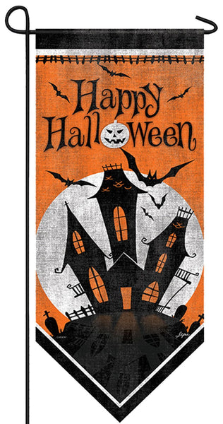 Haunted Mansion Garden Banner - I AmEricas Flags