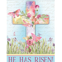 He Has Risen House Flag