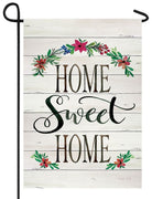 Home Sweet Home Shiplap Garden Flag
