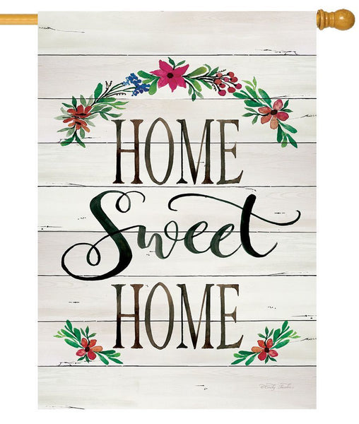 Home Sweet Home Shiplap House Flag