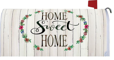 Home Sweet Home Shiplap Mailbox Cover