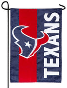 Houston Texans Embellished Applique Garden Flag