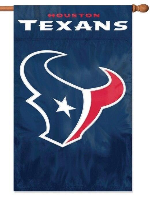 Houston Texans Applique House Flag