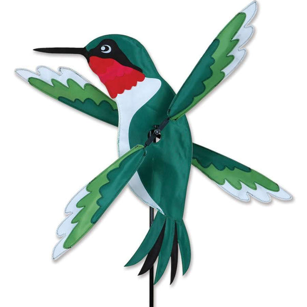 Hummingbird Large WhirliGig Wind Spinner