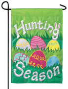 Hunting Season Double Applique Garden Flag