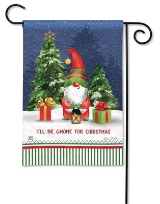 I'll Be Home For Christmas Garden Flag