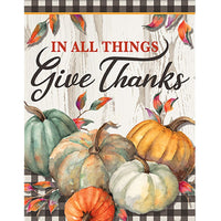 In All Things Give Thanks House Flag