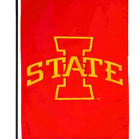 Iowa State University Applique Garden Flag