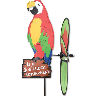 Island Parrot Petite Wind Spinner