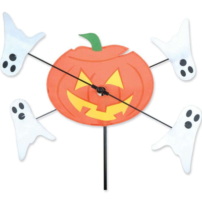 Jack O' Lantern and Ghosts WhirliGig Wind Spinner