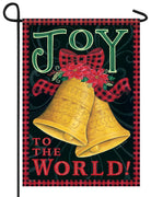 Joy Bells Garden Flag