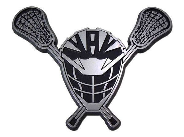 Lacrosse Chrome Car Emblem