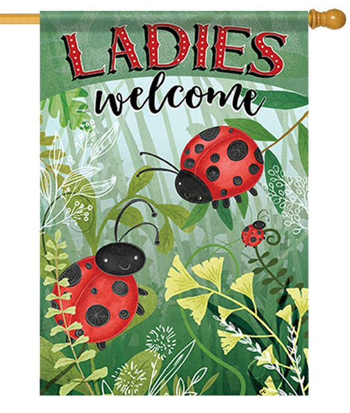 Ladies Welcome House Flag