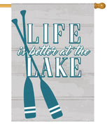 Life at the Lake House Flag