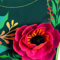 Linen Home Sweet Home Applique Garden Banner Detail 2