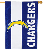 Los Angeles Chargers Embellished Applique House Flag