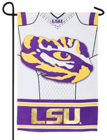 Louisiana State University Tigers Jersey 2-Sided Embellished Garden Flag Side 2