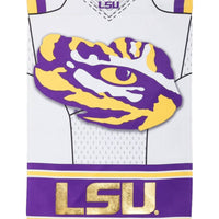 Louisiana State University Tigers Jersey 2-Sided Embellished House Flag - I AmEricas Flags