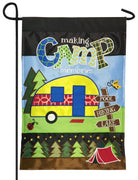 Making Camp Memories Double Applique Garden Flag