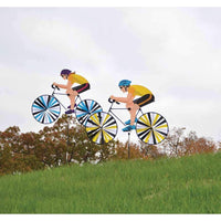 Male and Female Large Bicycle Wind Spinners