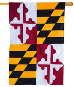 Maryland Applique House Flag