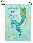 Mermaid Tail Garden Flag