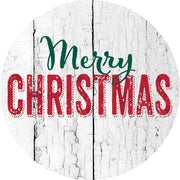 Merry Christmas Shiplap Accent Magnet