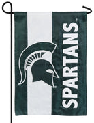 Michigan State Spartans Embellished Applique Garden Flag