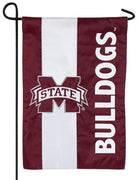 Mississippi State University Embellished Applique Garden Flag