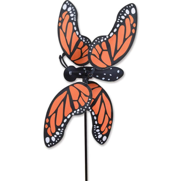 Monarch Butterfly Large Whirligig Wind Spinner