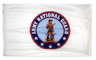 National Guard 3x5 Nylon Flag