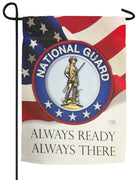 National Guard Sublimated Garden Flag