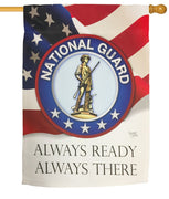National Guard Sublimated House Flag