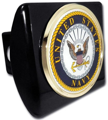 Navy Seal Black Hitch Cover