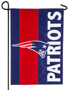 New England Patriots Embellished Applique Garden Flag