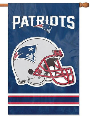 New England Patriots Applique House Flag