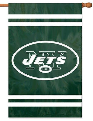 New York Jets Applique House Flag