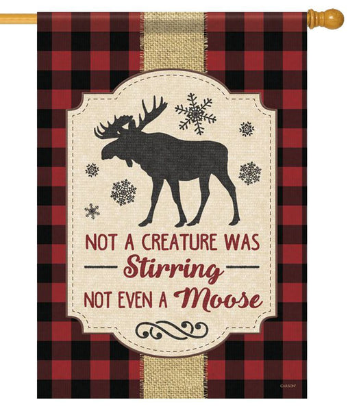 Not Even a Moose House Flag - All Decorative Flags/Holidays/Christmas Flags - I AmEricas Flags