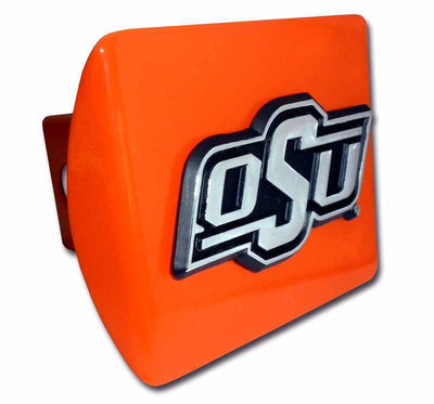Oklahoma State University OSU Orange Hitch Cover