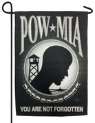 POW MIA Sublimated Garden Flag