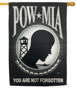 POW MIA Sublimated House Flag