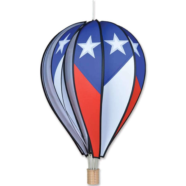 Patriotic Large Hot Air Balloon Spinner